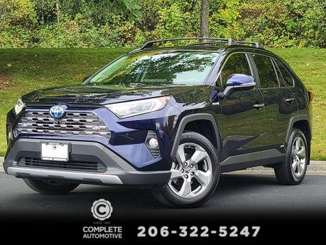 2019 Toyota RAV4 Hybrid Limited All Wheel Drive 1 Owner Local Advanced Tech & Weather Pkgs LOADED in Seattle