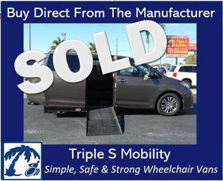 2019 Toyota Sienna Xle Auto Access Seat Wheelchair Van Handicap Ramp Van Pinellas Park, Florida