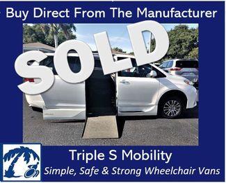 2019 Toyota Sienna Xle Wheelchair Van Handicap Ramp Van Pinellas Park, Florida