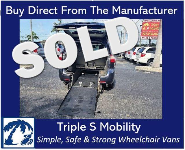 2019 Toyota Sienna Xle Wheelchair Van Handicap Ramp Van