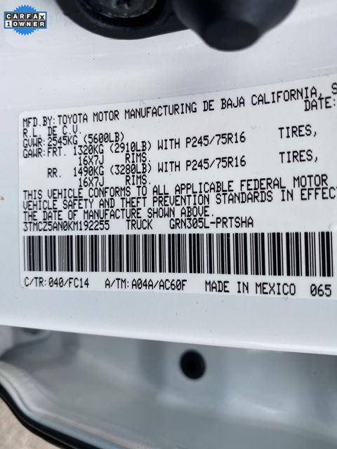 2019 Toyota Tacoma SR5 Madison, NC 43
