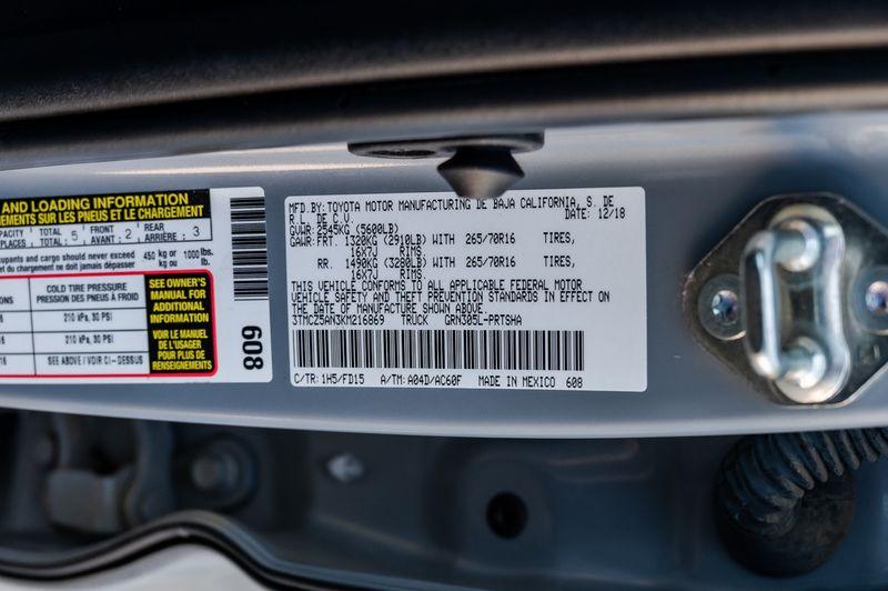 2019 Toyota Tacoma TRD W/ NAVIGATION 4X4 BSM/LKA 1 OWNR CLEAN CARFAX in Rowlett, Texas