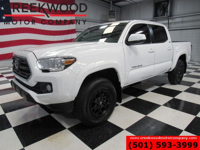 2019 Toyota Tacoma SR5 4x4 Automatic V6 White 1 Owner Low Miles CLEAN