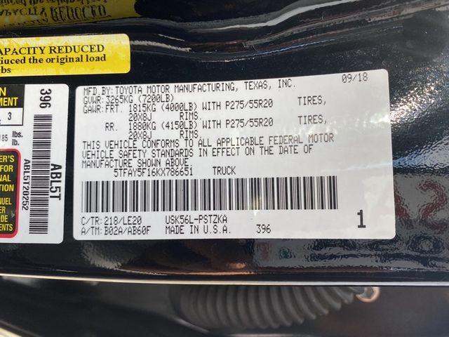 2019 Toyota Tundra Platinum Madison, NC 48