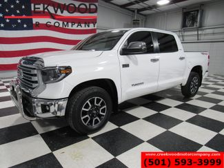 2019 Toyota Tundra Limited Crew Max 4x4 White 1 Owner Nav Roof CLEAN in Searcy, AR 72143