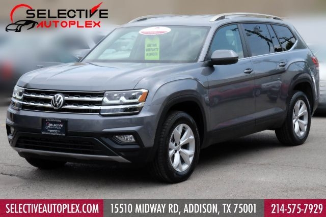 2019 Volkswagen Atlas 3.6L V6 SE w/Technology, LEATHER SEATS, BACKUP CAM in Carrollton, TX 75006
