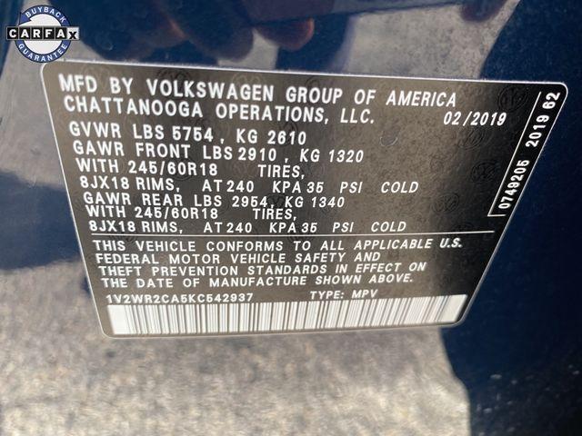 2019 Volkswagen Atlas 3.6L V6 SE w/Technology Madison, NC 40