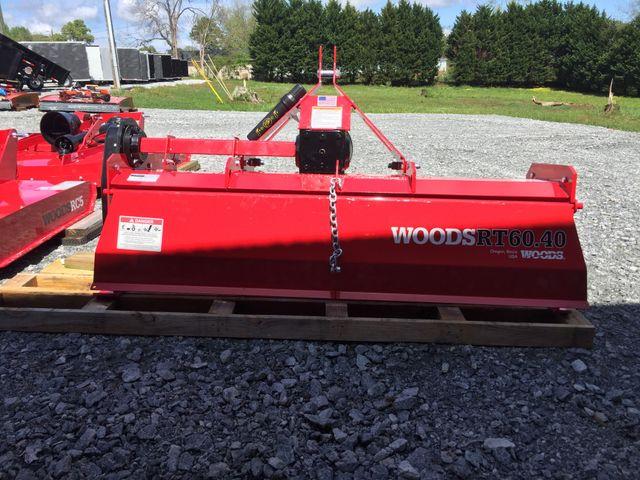 2019 Woods RT60.40MF Tiller in Madison, Georgia 30650