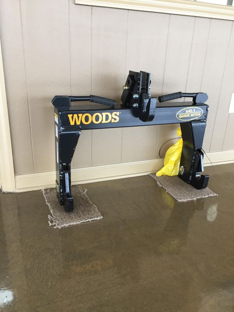2019 Woods TQH1 Quick Hitch