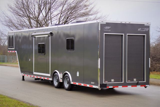 2020 Atc Roll Up Door BBQ Trailer w/ Custom Living Quarters