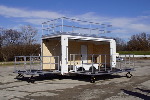 2020 Atc Base Model Stage Trailer W/ Electrical