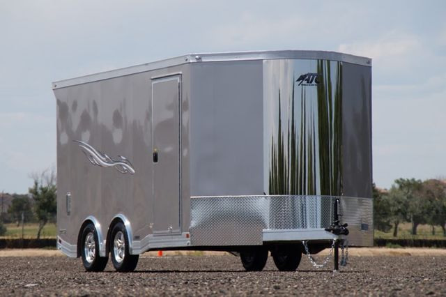 2020 Atc Quest 8.5' Wide Motorcycle 8.5 X 16 + 2' V-Nose in Fort Worth, TX 76111