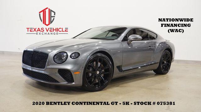 2020 Bentley Continental GT V8 MSRP 241K,NAV,HTD/COOL LTH,B&O SYS,5K