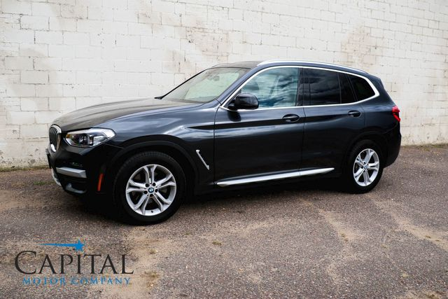 2020 BMW X3 xDrive30i AWD Luxury Crossover w/Nav, Backup Cam, Panoramic Roof, Heated Seats & Apple CarPlay in Eau Claire, Wisconsin 54703