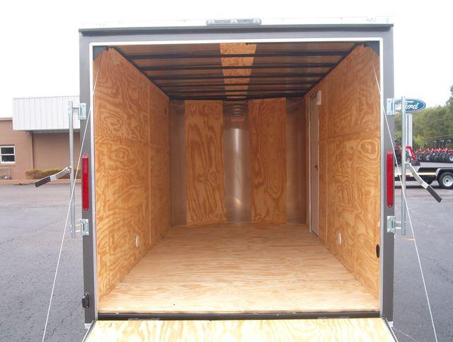 """2020 Cargo Craft Enclosed 7x14 6'6"""" Interior Height in Madison, Georgia 30650"""