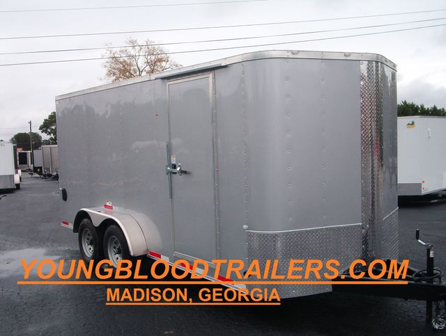 "2020 Cargo Craft Enclosed 7x16 5 ton 6'6"" Interior Height in Madison, Georgia 30650"