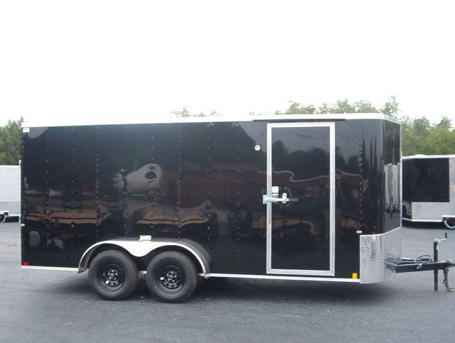 """2020 Cargo Craft Enclosed 7x16 6' 6"""" Interior Height in Madison, Georgia 30650"""