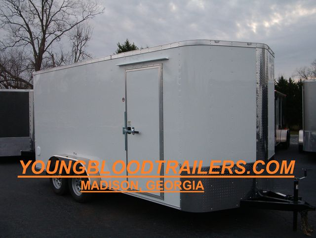 "2020 Cargo Craft Enclosed 7x16 6'6"" Interior Height in Madison, Georgia 30650"
