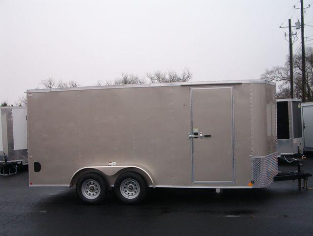 """2020 Cargo Craft Enclosed 7x16 6'6"""" Interior Height in Madison, Georgia 30650"""