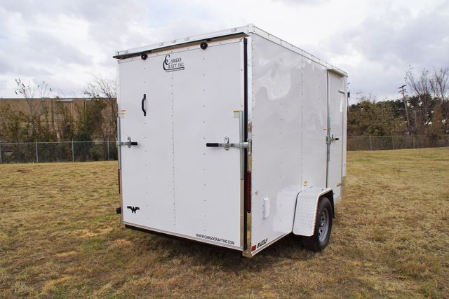 2020 Cargo Craft 6 x 12 Enclosed V-Nose Cargo Trailer in Fort Worth, TX 76111