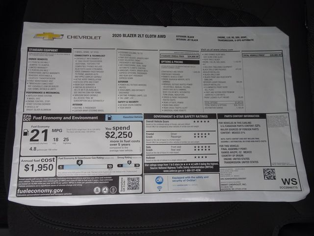 2020 Chevrolet Blazer LT Madison, NC 45