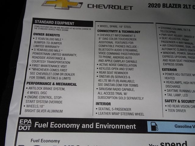 2020 Chevrolet Blazer LT Madison, NC 46