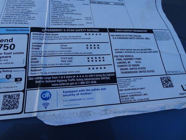 2020 Chevrolet Camaro 1LT Madison, NC 43