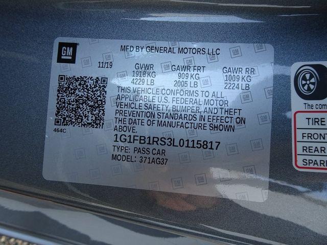 2020 Chevrolet Camaro 1LT Madison, NC 44