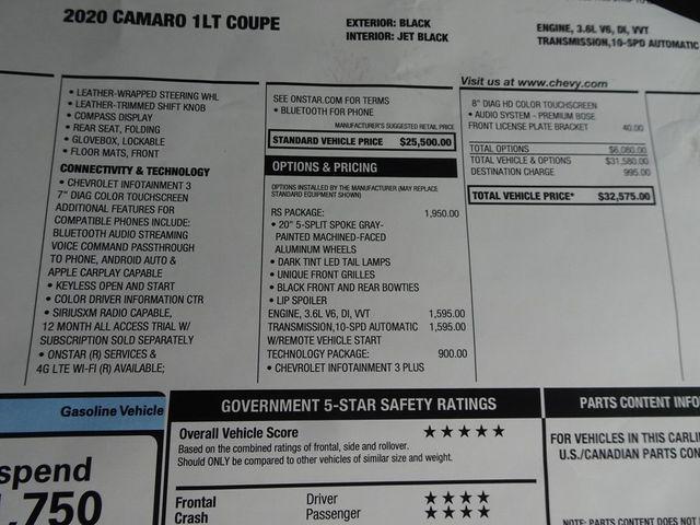 2020 Chevrolet Camaro 1LT Madison, NC 41