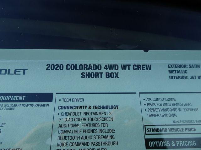 2020 Chevrolet Colorado 4WD Work Truck Madison, NC 47