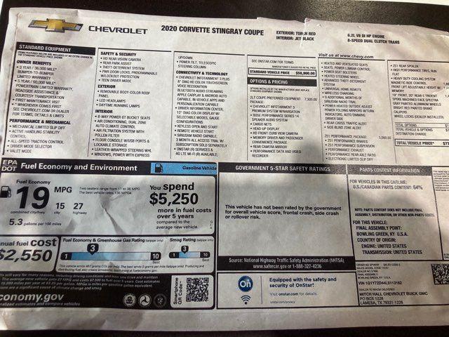 2020 Chevrolet Corvette 2LT in Boerne, Texas 78006