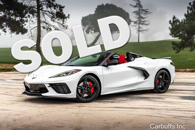 2020 Chevrolet Corvette Convertible 3LT | Concord, CA | Carbuffs