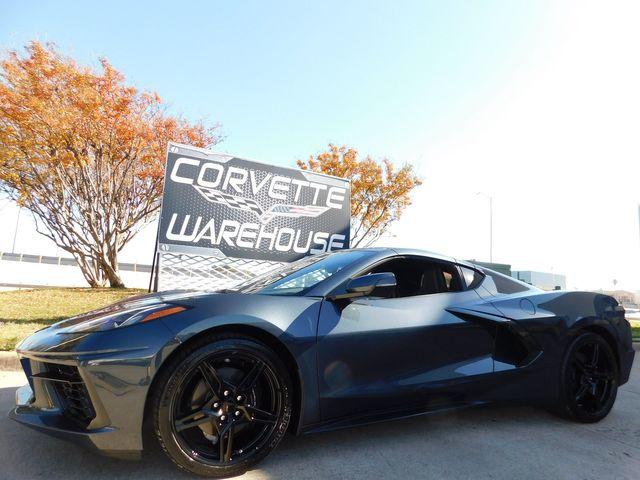 2020 Chevrolet Corvette Coupe 2LT, IOT, NAV, SYS, Black Wheels, Only 2k