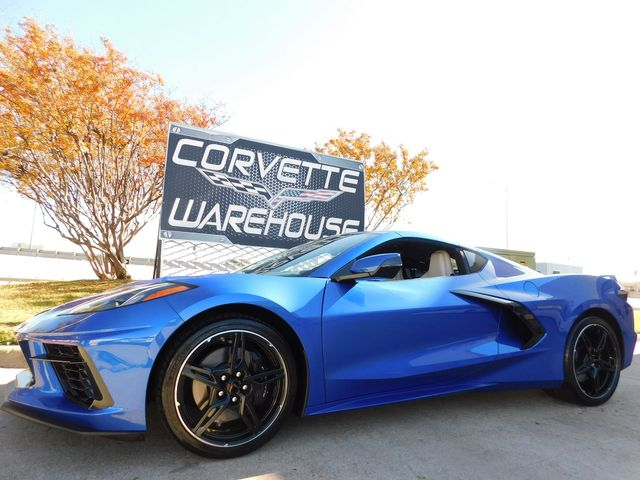 2020 Chevrolet Corvette Coupe Z51, IOS, NPP, Carbon Flash, 1k
