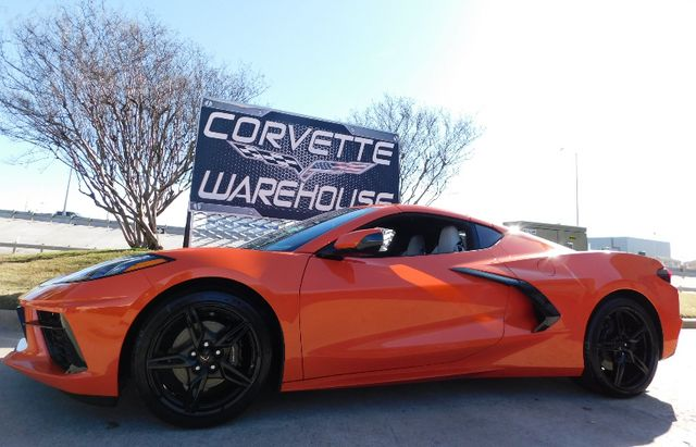 2020 Chevrolet Corvette Coupe 2LT, GT2 Seats, NAV, Black Wheels 113 miles in Dallas, Texas 75220
