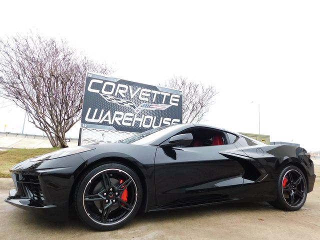 2020 Chevrolet Corvette Coupe IOS, NPP, Black Wheels, Only 15 miles