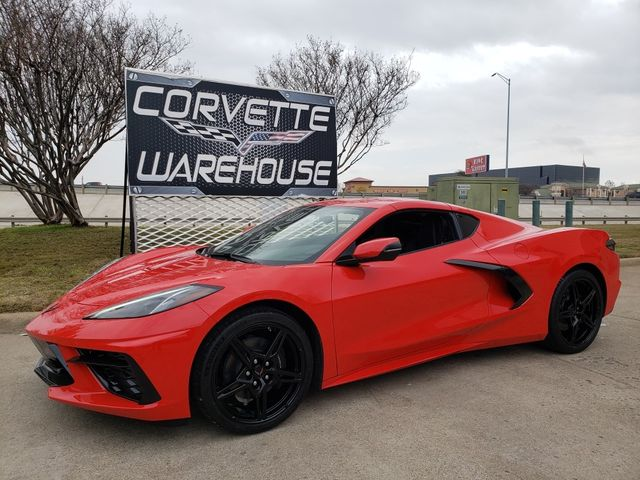 2020 Chevrolet Corvette Coupe IOS System, Black Wheels, Only 30 Miles