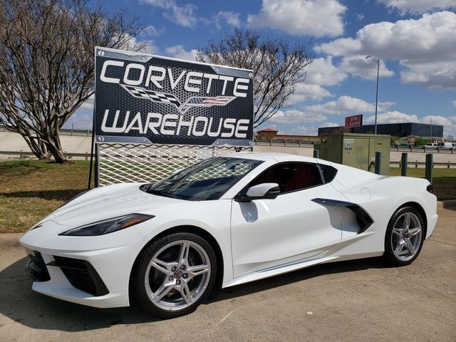 2020 Chevrolet Corvette Coupe Premium, EYT, Black Wheels, Only 150 Miles