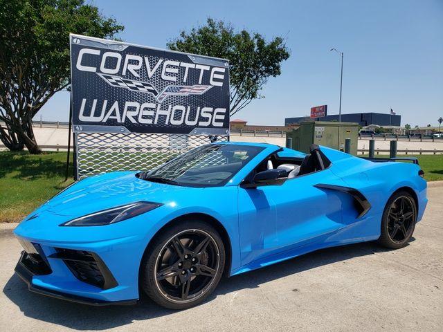 2020 Chevrolet Corvette Convertible Z51, 2LT, IOT, GT2, TT Seat, Micro, 1k in Dallas, Texas 75220