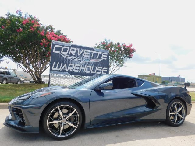 2020 Chevrolet Corvette Coupe Premium, Z51, IOS, Aero Wing, Spectra's, 4k
