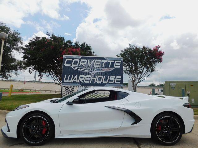 2020 Chevrolet Corvette Coupe Z51, Premium, IOS, FE4, NPP, 729 Miles in Dallas, Texas 75220