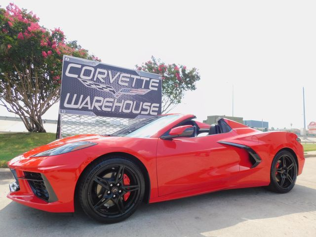 2020 Chevrolet Corvette CONV 2LT, IOT, UQT, NPP, Black Wheels 2k