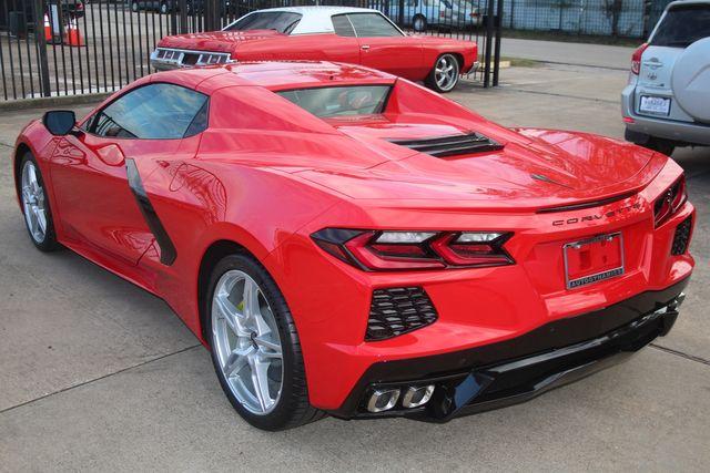 2020 Chevrolet Corvette Convertible Performance Exhaust/ Yellow Calipers Houston, Texas 11