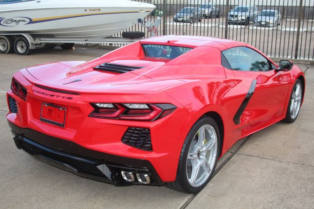 2020 Chevrolet Corvette Convertible Performance Exhaust/ Yellow Calipers Houston, Texas 12