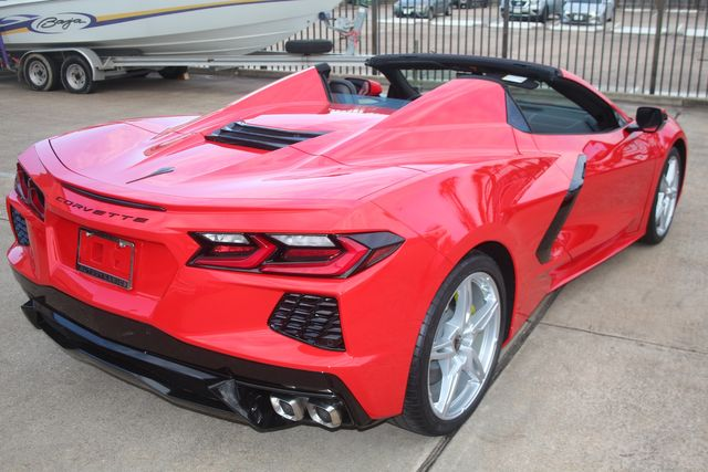 2020 Chevrolet Corvette Convertible Performance Exhaust/ Yellow Calipers Houston, Texas 18