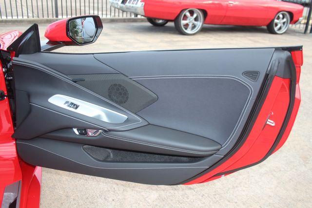 2020 Chevrolet Corvette Convertible Performance Exhaust/ Yellow Calipers Houston, Texas 29