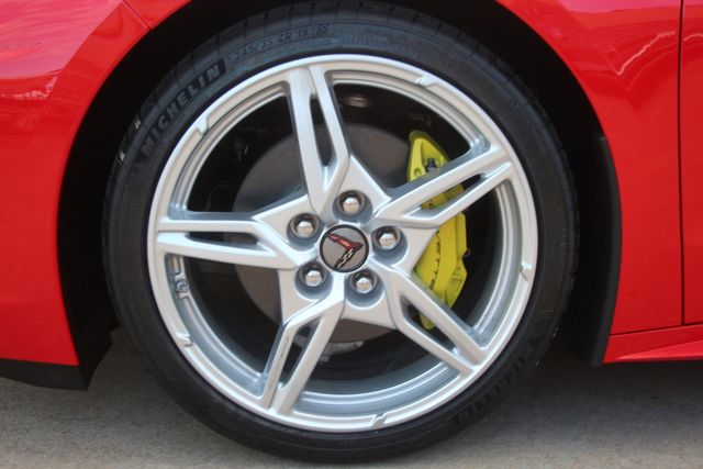 2020 Chevrolet Corvette Convertible Performance Exhaust/ Yellow Calipers Houston, Texas 5