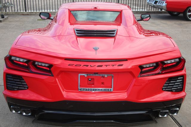 2020 Chevrolet Corvette Convertible Performance Exhaust/ Yellow Calipers Houston, Texas 9
