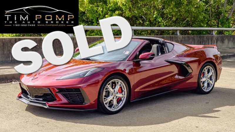 2020 Chevrolet Corvette 1LT   Memphis, Tennessee   Tim Pomp - The Auto Broker in Memphis Tennessee