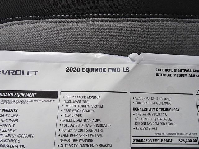 2020 Chevrolet Equinox LS Madison, NC 43